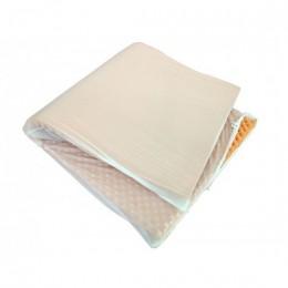 Capa em PVC para Colchão Caixa de Ovo Incolor Magic Bag