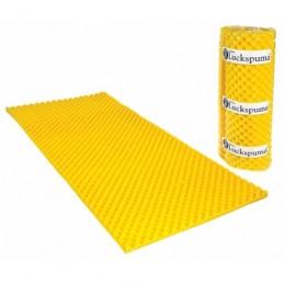 Colchonete Caixa de Ovo D-23 Amarelo 4 cm Casal Luckspuma