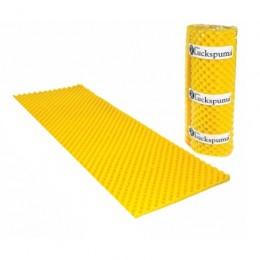 Colchonete Caixa de Ovo D-23 Amarelo 4 cm Solteiro Luckspuma
