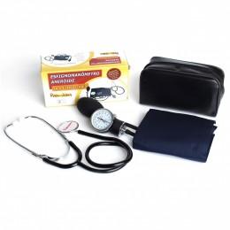 Esfigmomanômetro Aneróide com Estetoscópio Premium