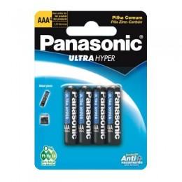Pilha Ultra Hyper Palito AAA Panasonic