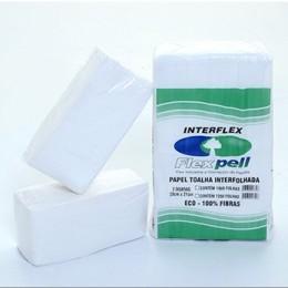 B Papel Toalha Interflex Eco 20x21 C/1000 Flexpell