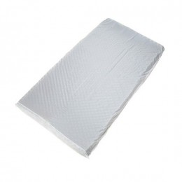 Capa em PVC para Colchão Caixa de Ovo Branca Magic Bag