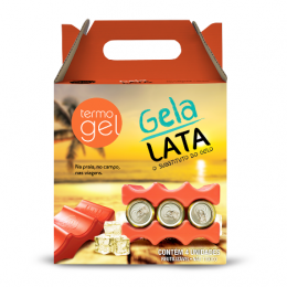 Kit Gela Lata Termogel