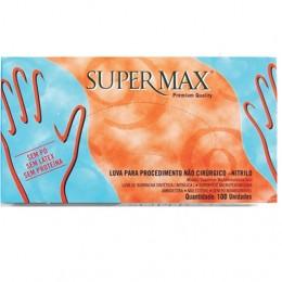 Luva P/ Proced. Nitrilo Azul Supermax