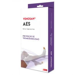 Meia AES Venosan 18mmHg AD 3/4 Pé Aberto