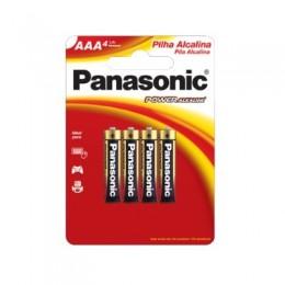 Pilha Alcalina Palito AAA C4 Panasonic