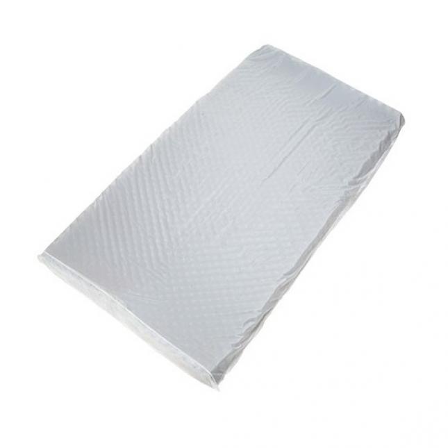 Capa em PVC para Colchão Caixa de Ovo Branca GMED