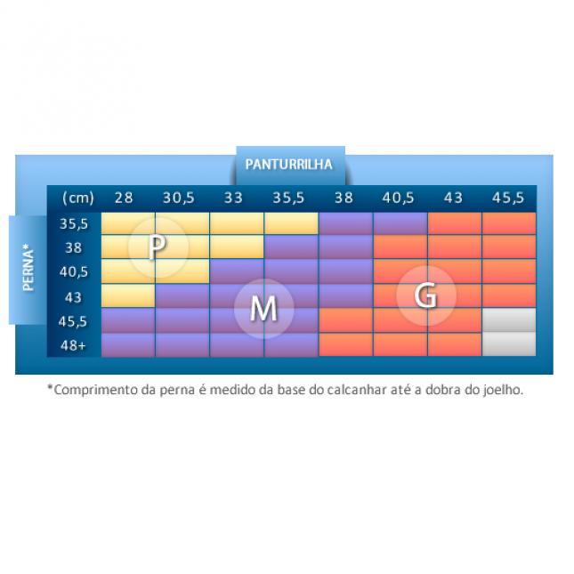 Meia 3/4 Masculina - Média Compressão 18-21 mmHg Kendall