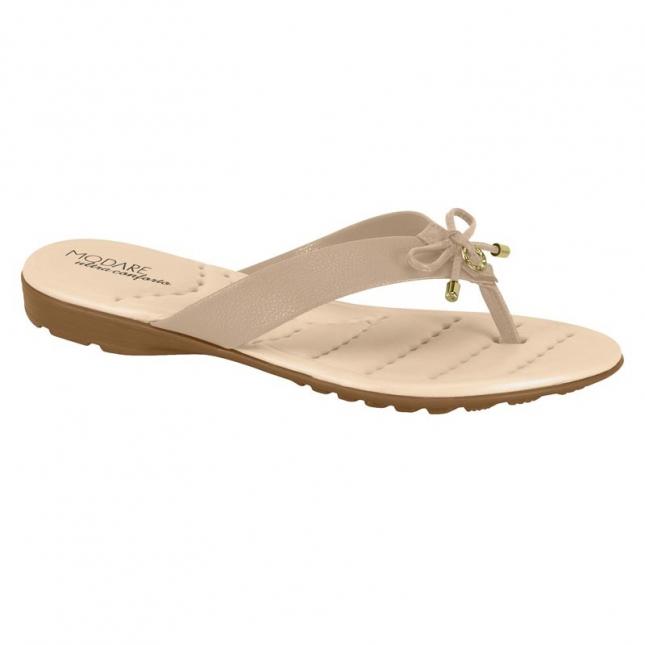 Sandália Modare Floather Laço Nude