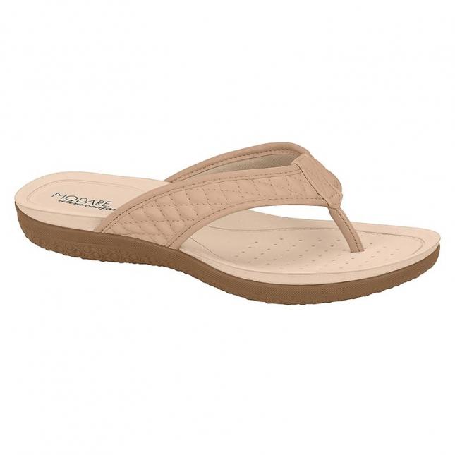 Sandália Modare Soft Flex Nude